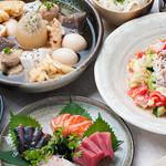 かなやまサルーン - 料理写真:お1人様3,500円(税込)のおでん盛りコースです
