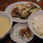 20234724 - 回鍋肉980円(サービスセット)2013年7月14日慶福楼