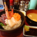 菜の花 - 海鮮丼