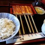 田楽木曽屋 - 豆腐田楽(5本)