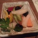 20236251 - 6種野菜のピクルス(400円)