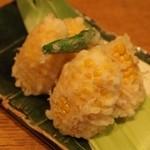 十千花前 - とうきびの天ぷら