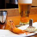 串かつ にしかわ - 串揚げと、ビール!最高!