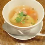 ベジー - スープ。