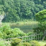 京亭 - 荒川の水面。