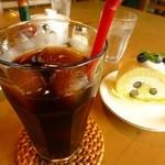 けや木 - ケーキセット♪500円(増税後520円)