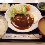 キッチン ボンシェール - ハンバーグ定食