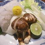 天繁 - 鱧と松茸の鍋