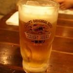 海ぼうず本店 - 生ビール