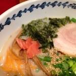 ラーメンショップ 西海 - 岩海苔と紅生姜