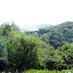 ジャンカルド - 山側のテーブルからの眺め。