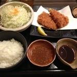 黒かつ亭 - 黒豚のとんかつ定食。ランチメニュー驚きの980円!