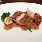 フェリエ - 本日の鮮魚は、鯛。