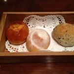 フェリエ - パンは3種類♪