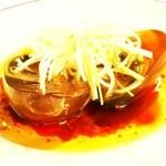 中国料理 新葡苑 - 烏骨鶏のピータン