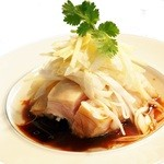 中国料理 新葡苑 - 大山鶏の葱醤油ソース