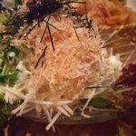 海鮮茶屋魚吉 - 大根サラダ