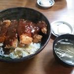 カツ丼900円 2013年バージョン(どんぶりが新しくなりました)