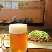 広島焼HIDE坊 - 東京では珍しい宮島生ビールをお供に!