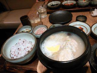 韓食 古家 - 半鶏湯