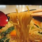 京らーめん 糸ぐるま - 一日野菜の味噌らーめんリフトアップ