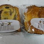 20254532 - 抹茶トーストともちパン