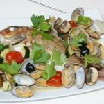 ニオチェーノ - 真鯛のアクアパッツァ