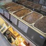 カフェ ベヴェリーノ - キャラバン珈琲の豆を販売