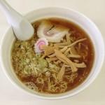 麺や 豊吉 - 醤油・大(400円)