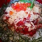 炉ばた 魚魚炭 - ようは漬け丼¥700