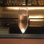 クアデラ - シャンパン!きりりとしてました。
