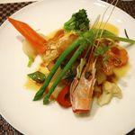 20260000 - 【魚料理:鯛と手長海老】2013/7