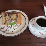 カフェ ルミエール - 自家製デザートセット
