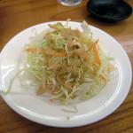 天下ご麺 - サラダとコーヒーは無料セルフサービス