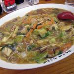 天下ご麺 - あんかけ焼きそば(普通盛り) 680円