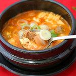 国際亭 - 豆腐チゲも最高!
