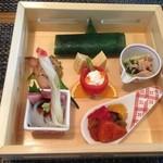 森の麻布 - 平日ランチ¥1,800前菜
