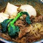 芝田食堂 - すき焼き定食