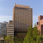 鉄板焼・愛宕 - 平和大通り沿いANAクラウンプラザホテル広島 別棟1階です。