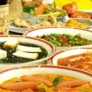 本格インド料理をお楽しみ頂きながら、素敵なパーティーをお過ごし下さい!