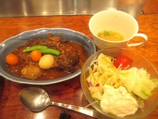 ステーキハウス 大和 - ビーフシチュー定食¥1000円