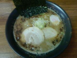 らー麺 たまや - こってりら〜麺650円/平成25年7月昼食