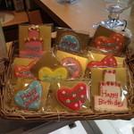 20272790 - 可愛いメッセージクッキー、記念日のメッセージカード代わりにいいね!