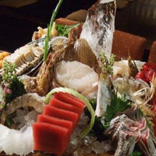 鮮度抜群の魚介類を是非ご賞味下さい。