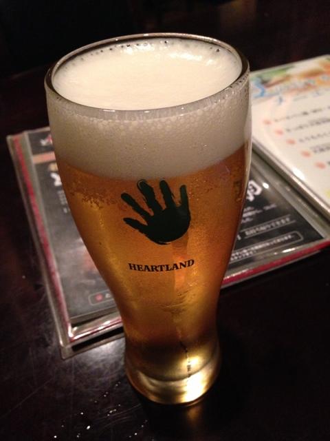 とめ手羽 新宿店 - 生ビールはハートランド