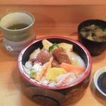福和寿司 - 海鮮丼¥500