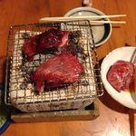 魚 しんのすけ - 鮪の頬肉の炙り