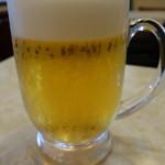 千成飯店 - 生ビール