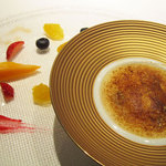 レストラン プログレ ヨコヤマ - フルーツのグラタン