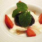 レストラン プログレ ヨコヤマ - フグ皮のゼリー